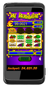 hi-roller mobile slots game